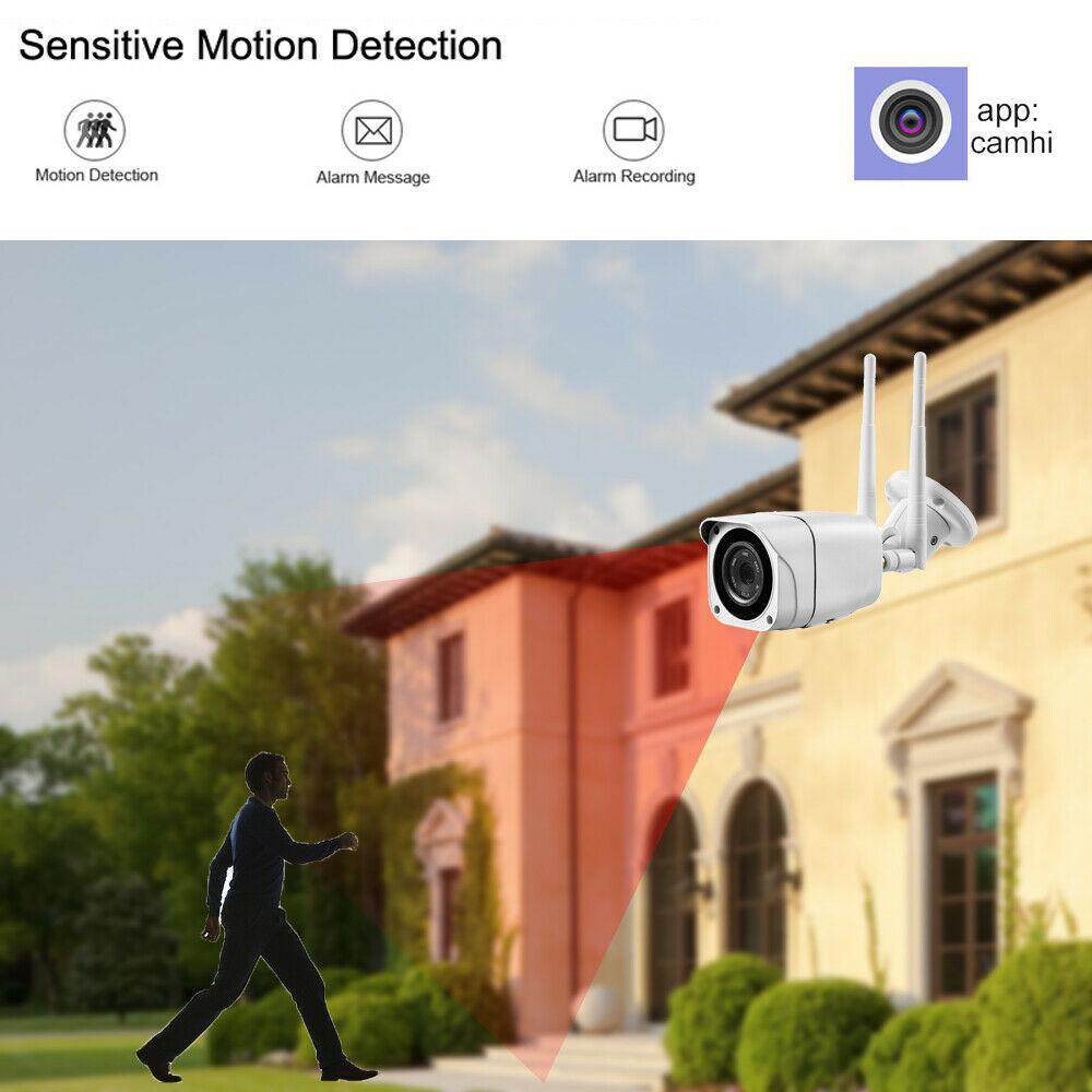 4G SIM Card 1080P Wireless Wifi IR Night Vision Outdoor Waterproof IP CCTV Camera