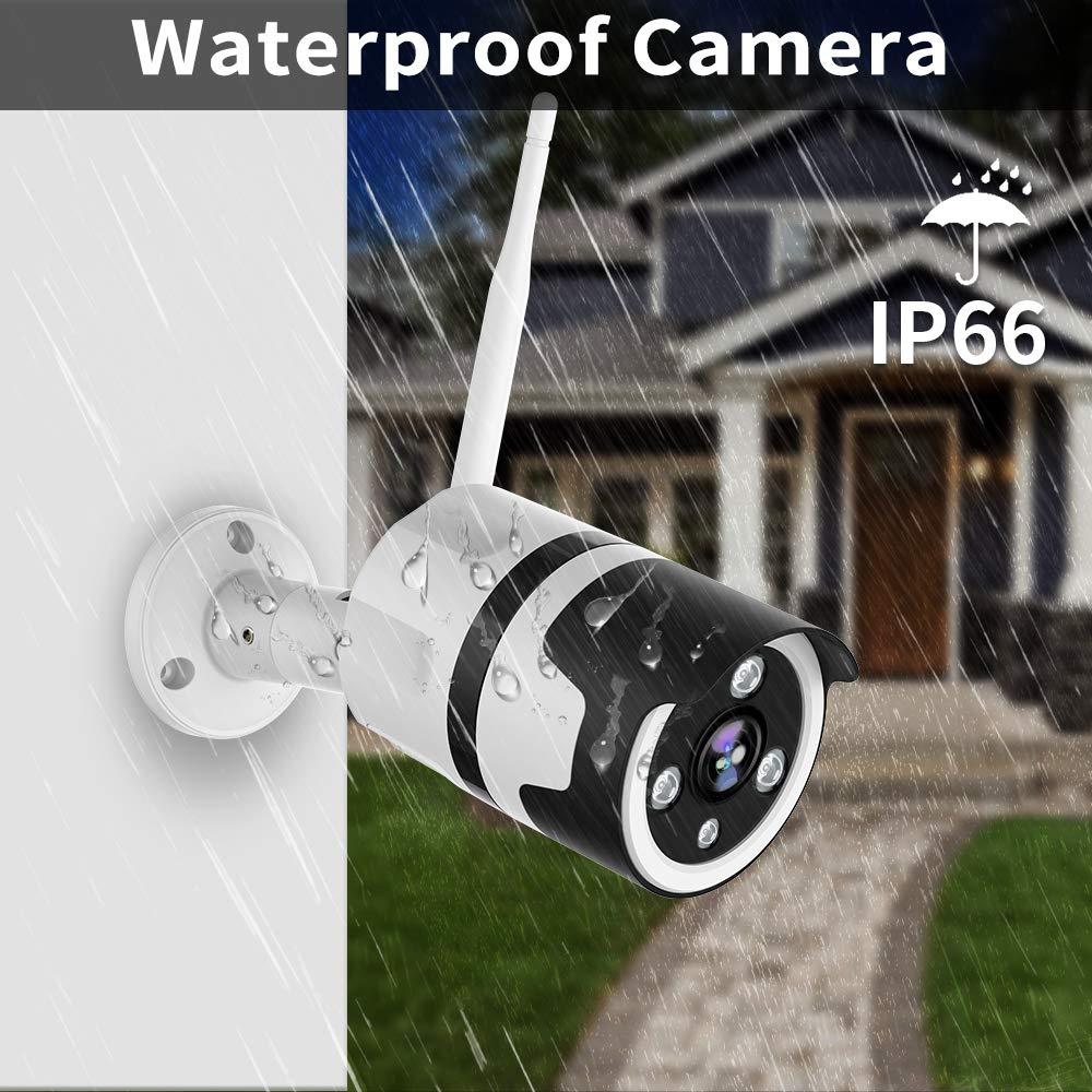 Dual Lens Security WIFI IP CCTV Security Camera Outdoor Home Double Lens PTZ Rotation IR Cam