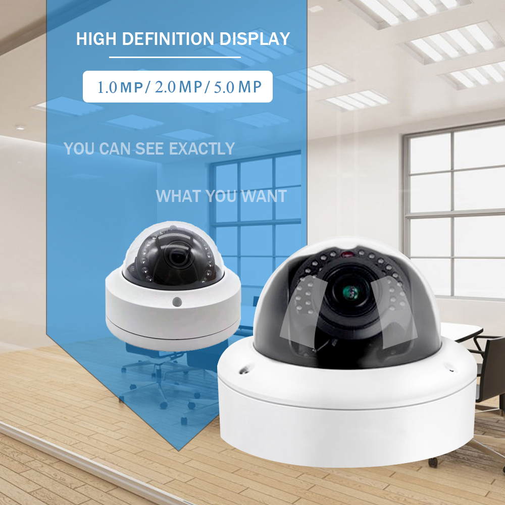 Ip camera indoor camera 1080 outdoor night vision poe 2.5 camaras mini dome smart ptz ip