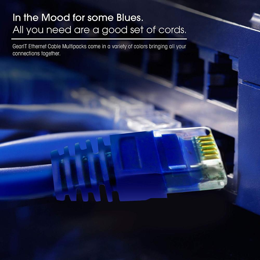 Flat  Cat6 RJ45 Patch Cord Network Cable